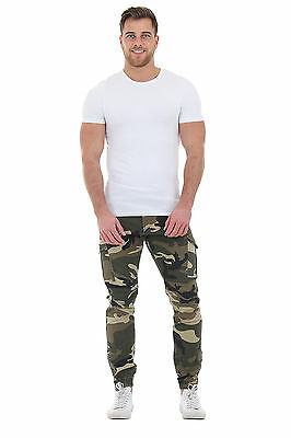 Men's Slim Fit Combat Trousers - Camouflage Cargo Pants Cargo trousers fashion