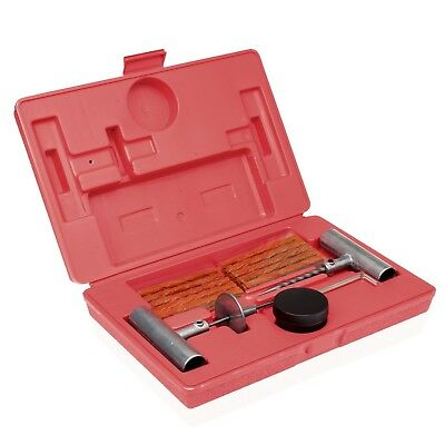 Tooluxe 50002L Universal Tire Repair Kit to Fix Punctures and Plug Flats, 35-...