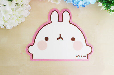 MOLANG Lovely Cute Character Shape Mouse pad (Molang Mousepad Front)