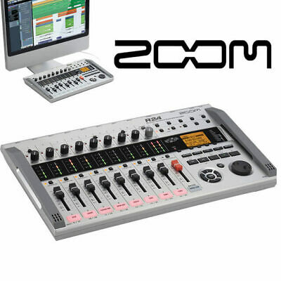 Zoom R24 24 Track multitrack portable Recorder with 8 inputs DAW controller