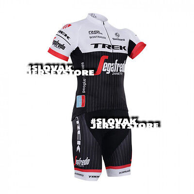 New 2016 Team Trek Segafredo Jersey + Bib Hobby Set Cycling Tour De France Kit