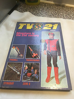 TV 21 Century Annual Circa 1969 Gerry Anderson Stingray Fireball XL5 Hardback