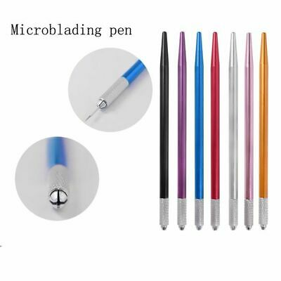 Microblading Pen Holder For Shading Needles Blades Eyebrow Manual Tool CRYSTALUM