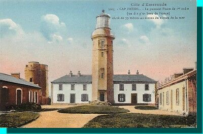 CPA - CAPE FRÉHEL the powerful lighthouse of 1st order