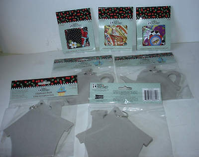 Mary Engelbreit Scrapbooking Clipboard Book And Clipboard Shapes Lot Of 7 NEW