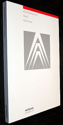 AutoCAD RELEASE 11 ADVANCED MODELING EXTENSION RELEASE 2 REFERENCE MANUAL 1992