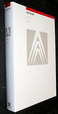 AutoCAD RELEASE 11 AUTODESK REFERENCE MANUAL 1990 HARDCOVER BOOK!!