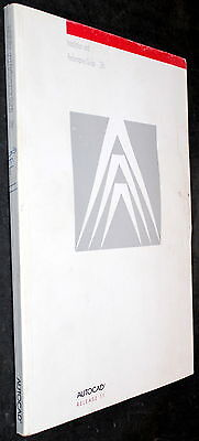 AutoCAD RELEASE 11 INSTALLATION AND PERFOMANCE GUIDE 386 MANUAL BOOK 1990
