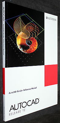 AutoCAD RELEASE 12 AUTODESK RENDER REFERENCE MANUAL BOOK 1992
