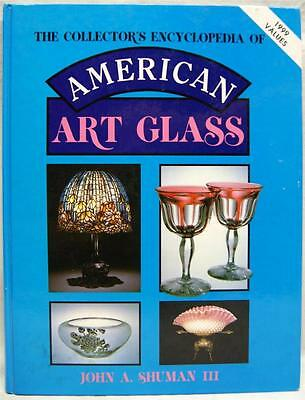 The Collector's Encyclopedia Of American Art Glass Book 1999 Identification