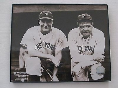 BABE RUTH AND ROGER MARIS Framed Picture