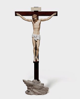 Lladro Large Cross  Jesus  #6911 OUR SAVIOUR (TABLETOP) 01006911 original box