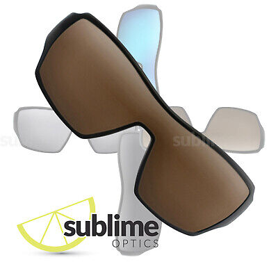 POLARIZED Dark Brown Replacement Lenses for Oakley Offshoot  ~ Bronze