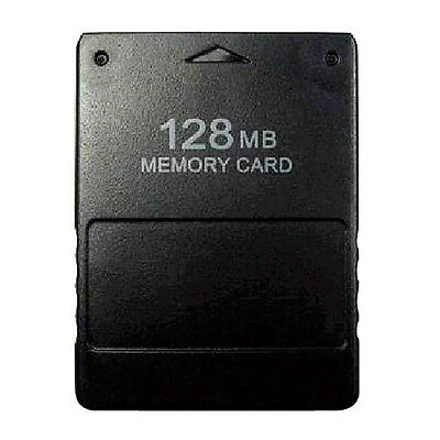 128MB MEMORY CARD FOR PLAYSTATION2 PS2 ,CA Stock