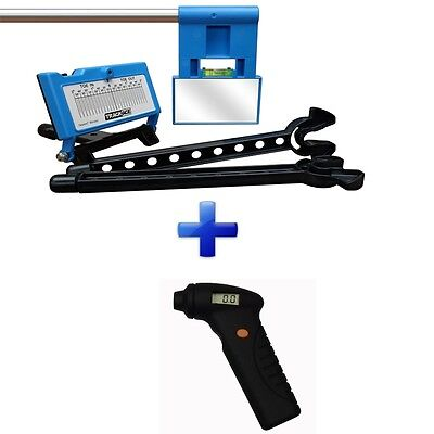 TrackAce Superdeal - Laser Alignment Kit + Digital Tyre Pressure Gauge