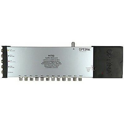 Optima Mains Powered MS512 5 x 12 way IRS Satellite Multiswitch