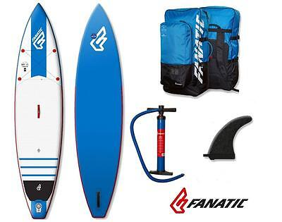 Fanatic Ray Touring Air inflatable SUP 2016 11.6 Stand up Paddle Board blue