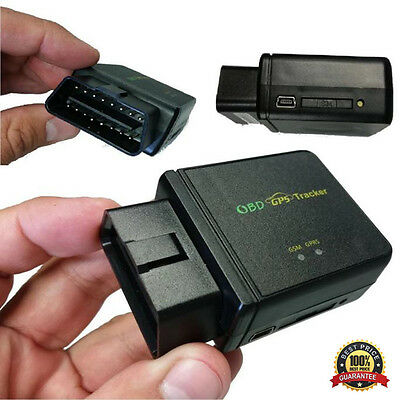 OBD II GPS Tracker Realtime Car Truck Vehicle Tracking GSM GPRS Mini Device New
