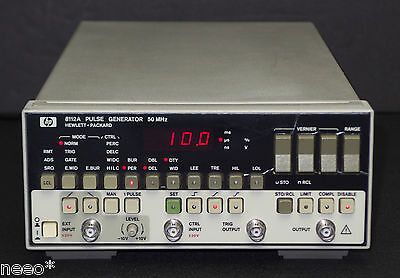 Keysight / HP 8112A 50 MHz Pulse Generator, Working