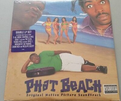 PHAT BEACH OST E-40 BIZ MARKIE THE CLICK SUGA T CHUBB ROCK  2LP vinyl new sealed