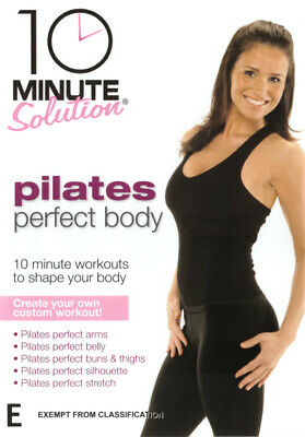 10 Minute Solution Pilates Perfect Body - Fitness Exercise Workout DVD R4 New!