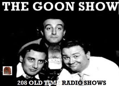 THE GOON SHOW 208 Old Time Radio Shows 100 hours comedy MP 3 DVD