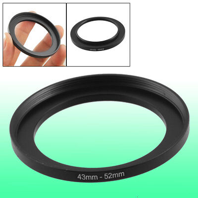 Camera Repairing 43mm to 52mm Metal Step Up Filter Ring Adapter