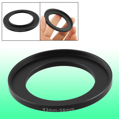 Camera Repairing 43mm to 58mm Metal Step Up Filter Ring Adapter
