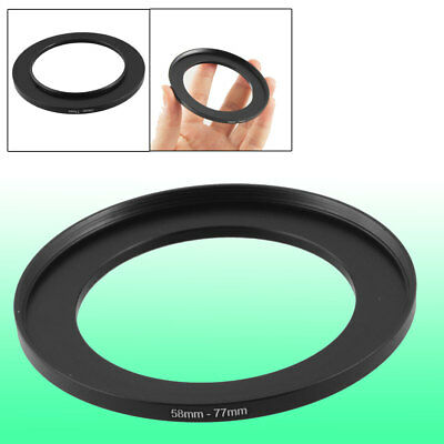 Camera Repairing 58mm to 77mm Metal Step Up Filter Ring Adapter
