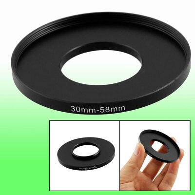 Camera Repairing 30mm to 58mm Metal Step Up Filter Ring Adapter