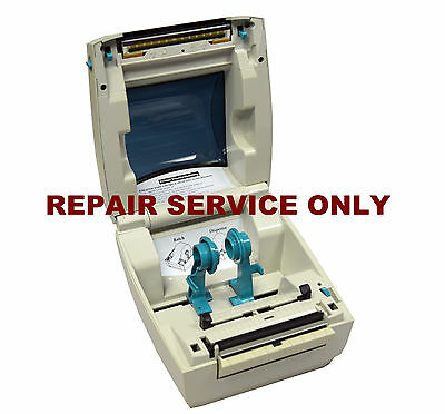 REPAIR SERVICE For Zebra LP 2844 Thermal Barcode Label Printer READ DESCRIPTION