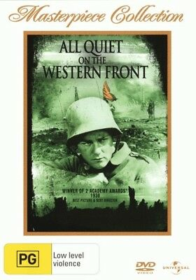 All Quiet on the Western Front (1930) DVD R4 (New)!