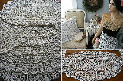 25 Shiffi Lace  Doilies Chabby Victorian Vintage Wedding Arts & Crafts project
