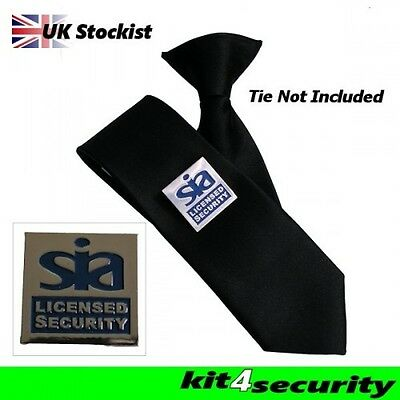 SIA Door Supervisor Tie Pin Badge K4S® Exclusive Design