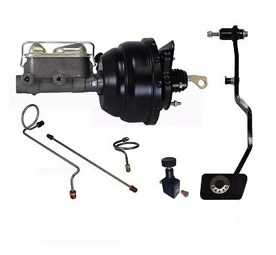 1967 68 69 Mustang Power brake booster kit complete manual trans pedal FC0008HK