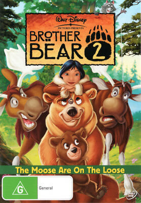 Brother Bear 2 - Walt Disney - Kids Childrens Movie DVD R4 New!