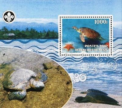 (036226) Scouting, Turtle, Benin - Private issue -
