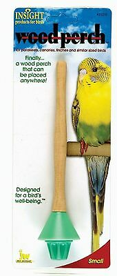 JW Insight Wood Perch For Small Birds Assorted Colors