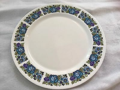 Ridgway 'amanda'  Bone China English Dinner Plate With Floral Edge In Vg. Cond
