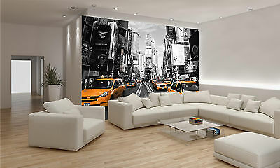 Times Square Wall Mural Photo Wallpaper GIANT DECOR Paper Poster Free Paste