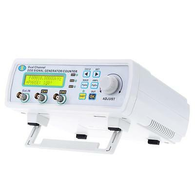 25MHz DDS 2CH Function Signal Generator Arbitrary Waveform Frequency Meter D6W0