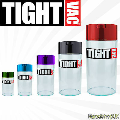 TIGHTVAC VACUUM JARS Smell Proof Airtight Container Storage Food Herbs