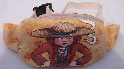 "Mary Engelbreit ""snap Out Of It!"" Canvas Fanny Waist Pack Belt Bag Euc"