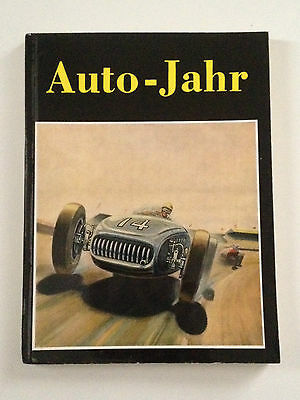 Original Auto Jahr # 1 - 1953/1954 - Year Book Anuario Annuaire Very Rare