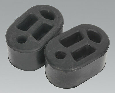Genuine SEALEY EX01 | Exhaust Mounting Rubbers L70 x D45 x H37 (Pack of 2)