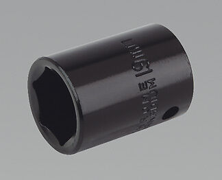 "Sealey IS1219 Impact Socket 19mm 1/2""Sq Drive"