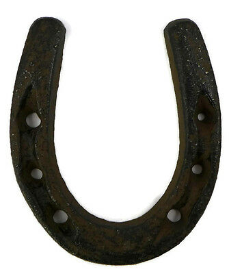 Cast Iron Small Horseshoe Rustic Western Craft Decor