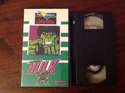 L'INCREDIBILE HULK Volume 4 - VHS - MULTIVISION Collection