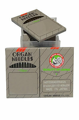50 Organ Needles 16X257, DBX1, 16X231 - Size 10, For  Industrial Sewing Machine
