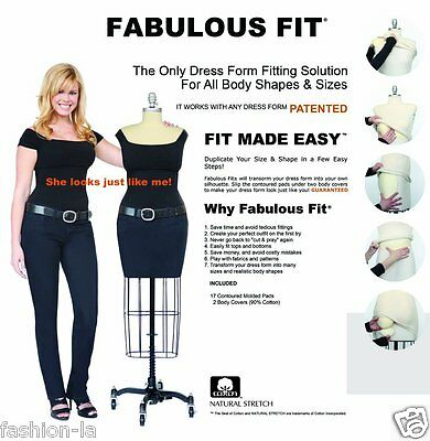 Fabulous Fit Dress Form Fitting System -  Small